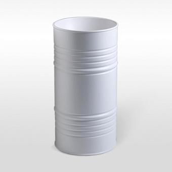 Kerasan Artwork Barrel Раковина 45х90 см, без отв., напольная, слив в пол, в комплекте сифон, цвет: белый матовый