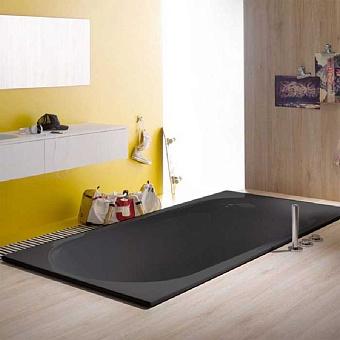 BETTE Comodo Ванна 180х80х45 с шумоизоляцией, цвет черное дерево (матовый)
