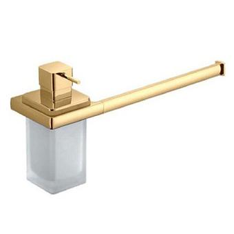 Colombo Lulu B6274.gold Полотенцедержатель с дозатором подвесной