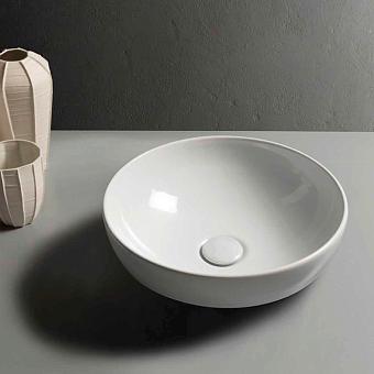 Globo T-Edge Раковина-чаша 37х14 см, без отв., на столешницу, цвет: белый