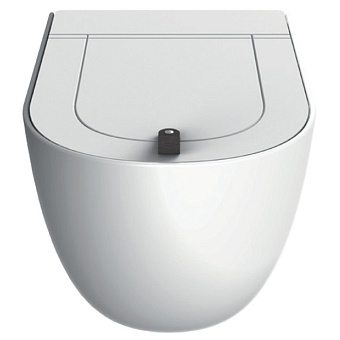 Artceram THE ONE Унитаз подвесной безободковый , 52х35см, с креплениями, цвет белый матовый