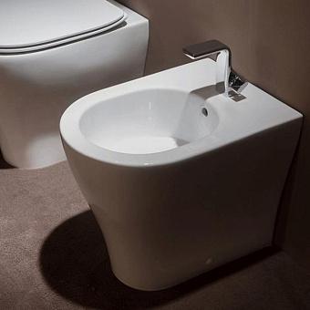 Flaminia APP Биде напольное 52x36xh43см, 1 отв. под смеситель, цвет: белый глянцевый