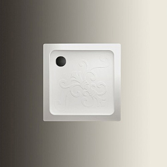 Devon&Devon Arabesque поддон квадратный 90х90см, цвет: белый