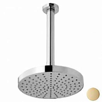 Webert Azeta Верхний душ с кронштейном, стальной, 200 мм, цвет розовое золото