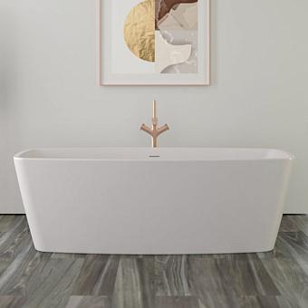 KNIEF Cube Ванна отдельност-я 170х80х57см, с щелевым переливом, цвет белый