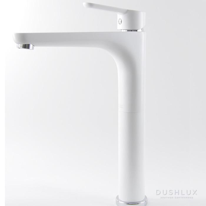 Webert Sax Evolution Смеситель для раковины, с донным клапаном, цвет: белый