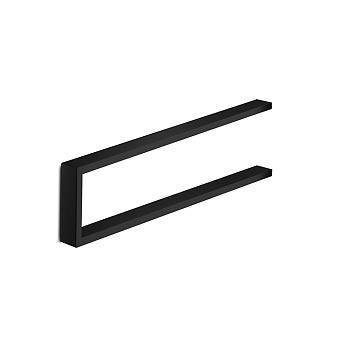 3SC SK Полотенцедержатель U-образный, плечо 35см, цвет: черный матовый