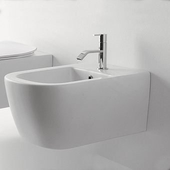 Antonio Lupi Komodo Биде подвесное, 54х36,6см, цвет: белый матовый
