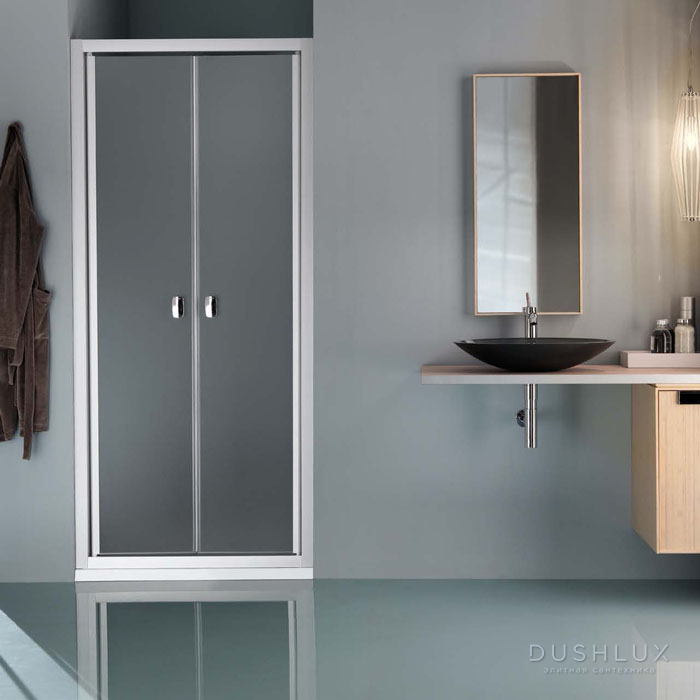 SAMO Europa Душевая дверь 86-92х200, профиль хром, прозрачное стекло