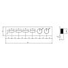 Gessi Hi-Fi Термостат для душа, с включением до 4 источников одновременно, цвет: Black XL