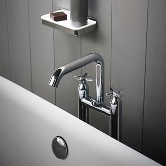 Agape Memory Смеситель для ванны, напольный, цвет: хром