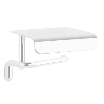 Gessi Goccia Держатель для туалетной бумаги с крышкой, подвесной, цвет: белый