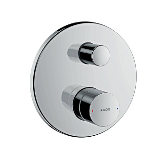 Axor Uno Встраиваемый смеситель для ванны однорычажный с защитой по станд. EN1717, цвет: хром