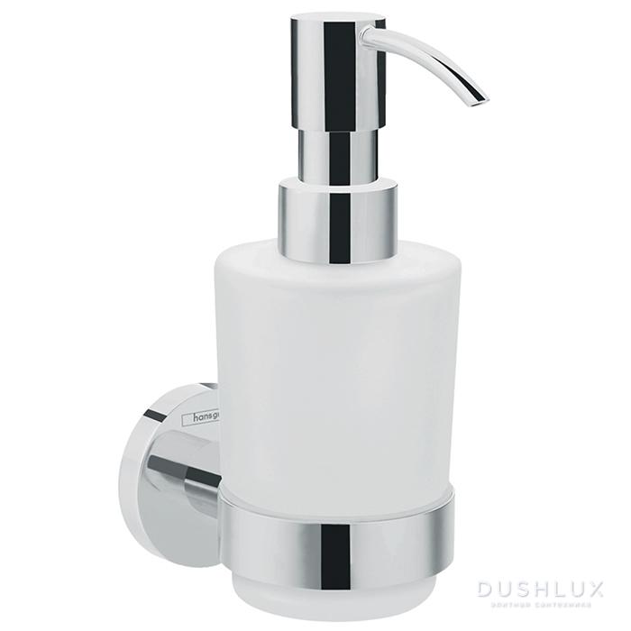 Hansgrohe Logis Universal Диспенсер для жидкого мыла, цвет: хром/белый
