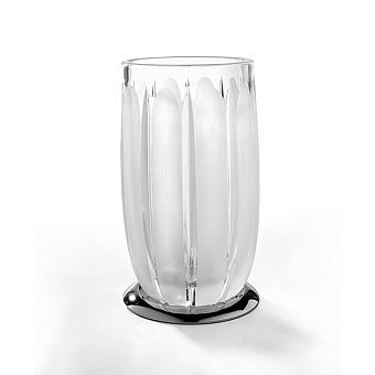 3SC Montblanc Стакан настольный, цвет: прозрачный хрусталь/хром