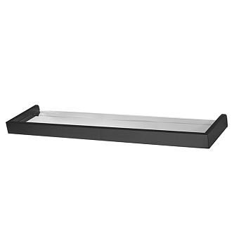 3SC SK Полочка 50х12 см, держатель h3см, цвет: черный матовый