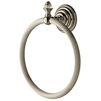 Devon&Devon Diamond Полотенцедержатель - кольцо, цвет: никель блестящий
