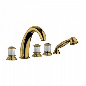 Bongio Impero Смеситель для ванны, цвет: золото/Swarovski