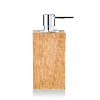 Decor Walther Wood SSP Дозатор для мыла, настольный, цвет: светлый бук