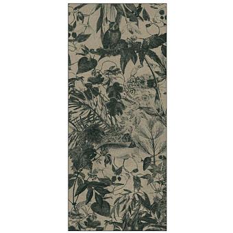 Ornamenta Operae Керамическая плитка 120х278см, настенная, декор: Herbarium Green