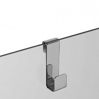3SC APPY Крючок навесной на стекло, одинарный, цвет: хром