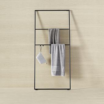 Burgbad Coco Стеллаж для полотенец 80x180 см, цвет черный
