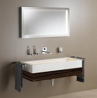 Keuco Edition 300 Комплект мебели 95x52.5х15.5 см, эбано