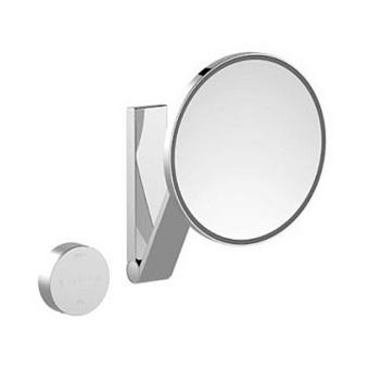 Keuco iLook_move Зеркало косметическое с подсветкой, круглое, с сенсорной панелью