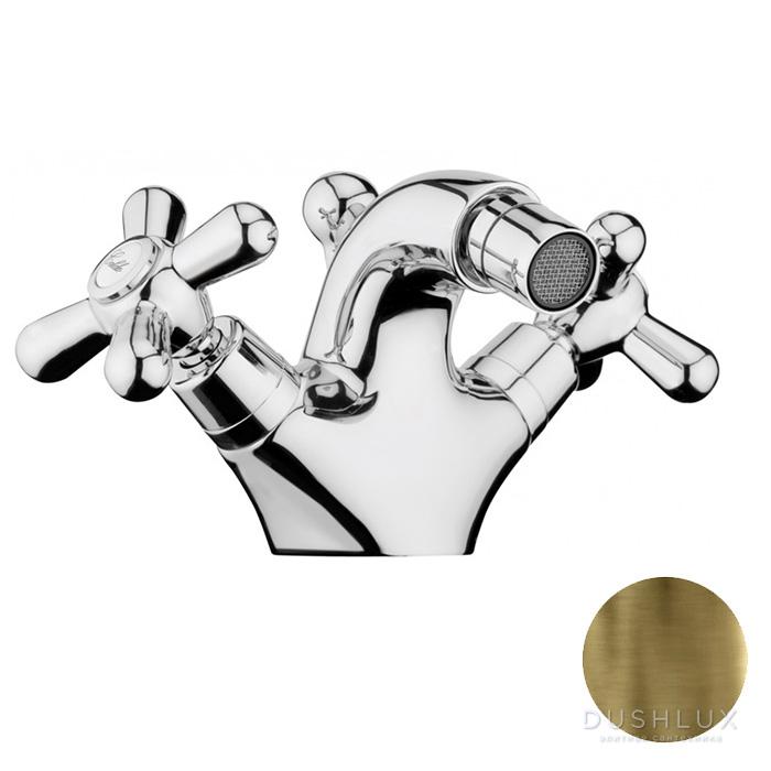 Webert Armony Смеситель для биде, с донным клапаном, цвет: бронза