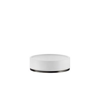 Gessi Inciso Мыльница настольная, цвет: белый/nero XL