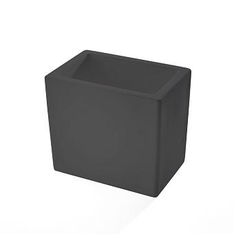 3SC Mood Black Стакан настольный, композит Solid Surface, цвет: чёрный матовый