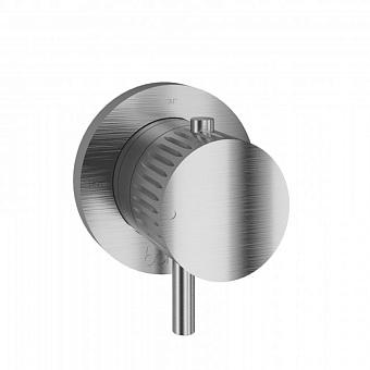 Встраиваемый термостатический смеситель для душа из нержавеющей стали Bongio Time 2020, цвет: нержавеющая сталь