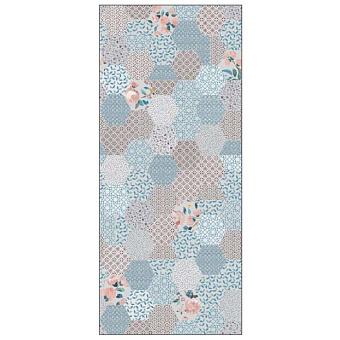 Ornamenta Operae Керамическая плитка 120х278см, настенная, декор: Blend Blue
