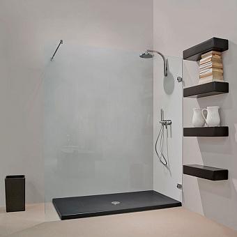 Flaminia Water Drop Душевой поддон 70x100xh5.5см, цвет: nero