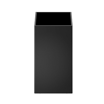 Decor Walther Cube DW 352 Баночка универсальная 4x4x8см, цвет: черный матовый