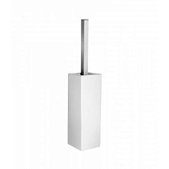 Bongio Domino Ершик туалетный напольный, цвет: белый