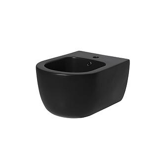 Noken Acro Compact Биде подвесное 49x36см, с 1 отв., цвет: черный матовый