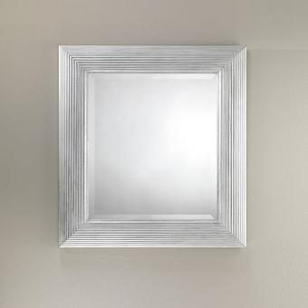 Devon&Devon Charles Silver Зеркало, цвет: серебро