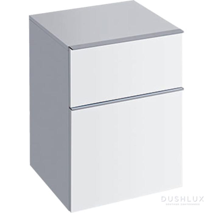 Geberit iCon Подвесной шкафчик с двумя выдвижными ящиками 45х60х47.7см, цвет: белый