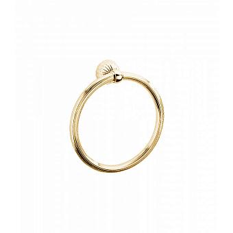 Полотенцедержатель-кольцо Bongio Radiant, цвет: золото 24к.