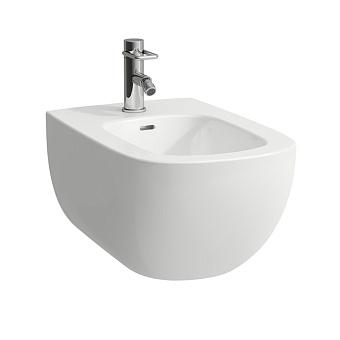 Laufen Palomba Биде подвесное 540х360х265мм, с 1 отв. под смеситель, с покр. LLC, цвет: белый
