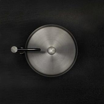Gessi 316 Раковина 40 см, без отв., для установки на столешницу, без перелива, нержавеющая сталь, цвет: Steel brushed