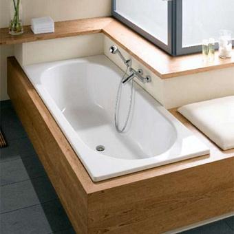 Bette Duett Ванна 170х80х42 см, прямоугольная, с шумоизоляцией, BetteGlasur® Plus, цвет: белый
