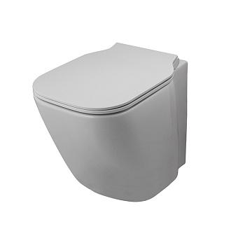 Noken Essence C Compact Унитаз независимый, безободковый, с креплениями, цвет: белый