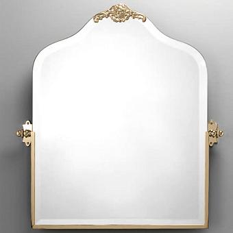 Devon&Devon Mayfair Зеркало поворотное с орнаментом, цвет: золото