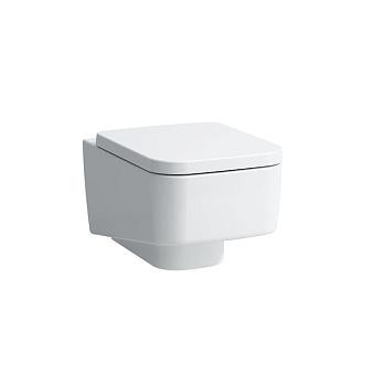Laufen Pro S Унитаз подвесной безободковый 53х36х29.5см., цвет: белый