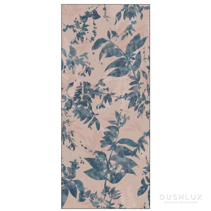 Ornamenta Operae Керамическая плитка 120х278см, настенная, декор: Foliage Pink