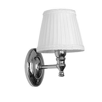 TW Bristol 039, настенная лампа светильника с овальным основанием, цвет: хром, абажур на выбор