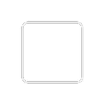 Bertocci Fly Держатель настенный металлический для ершика, цвет: белый матовый