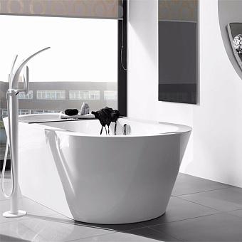 BETTE Starlet Oval Silhouette Ванна напольная 175х80 см, с шумоизоляцией, с экраном, цвет: белый